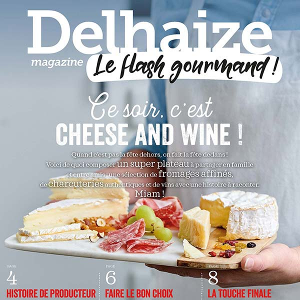 Delhaize / 2018/ Flash Gourmand mag /